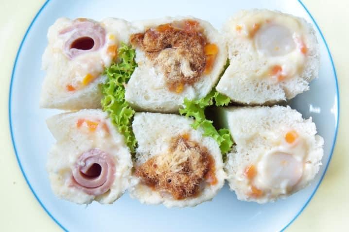 Sushi Z Toustového Chleba