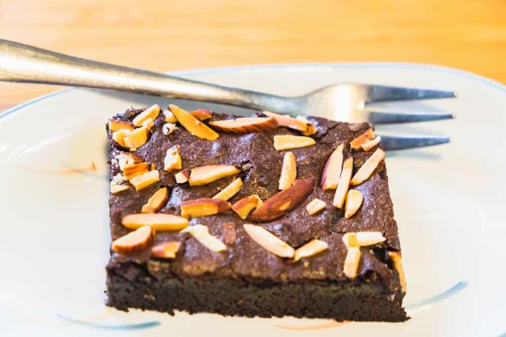 Čokoládové brownies z červených fazolí
